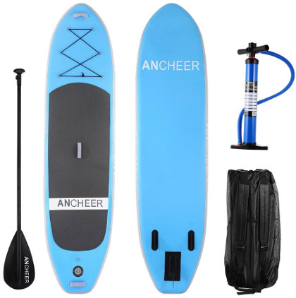 Ancheer 10' inflatable paddle board review