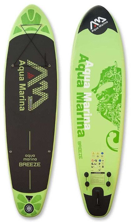 Aqua Marina Breeze inflatable SUP Review