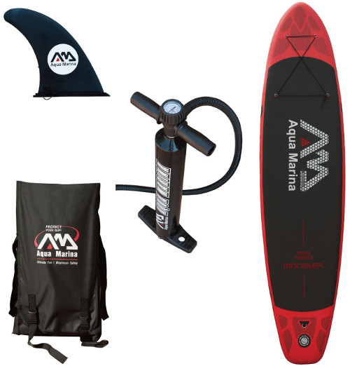 Aqua Marina Monster iSUP Review - Package