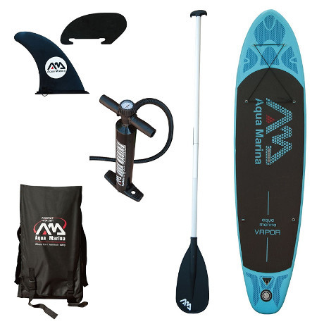 Aqua Marina Vapor Inflatable SUP Review - Package
