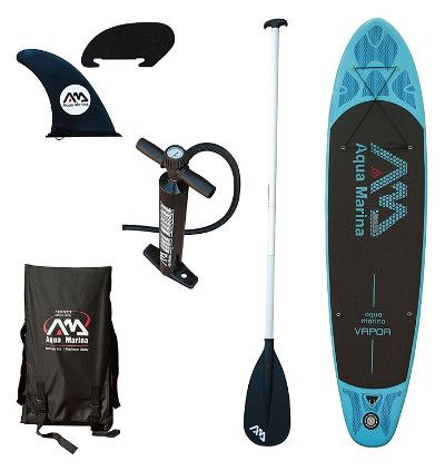 Aqua Marina Vapor inflatable paddle board Review - Package