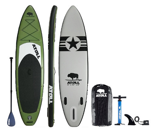 Atoll 11' Inflatable Stand up Paddle Board review