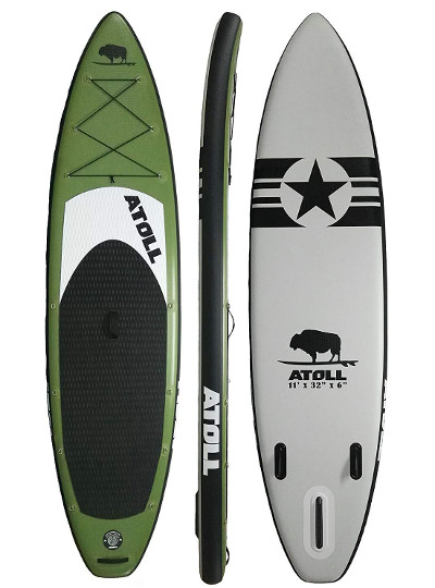 Atoll 11' inflatable SUP Review