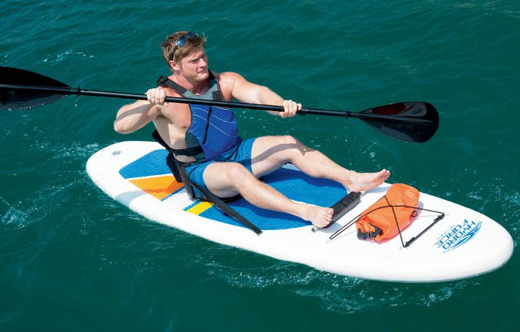 Bestway_HydroForce White Cap inflatable sup review