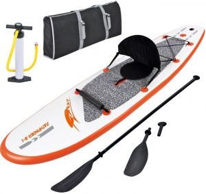 Blue Wave Sports Stingray inflatable SUP - Package
