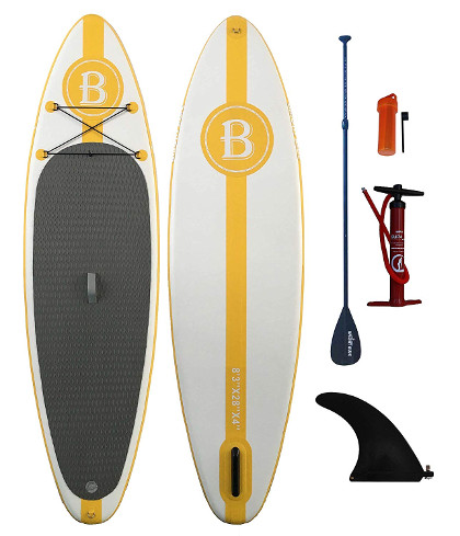 """Bright Blue 8'3"""" kids Inflatable Stand Up Paddle board review"""
