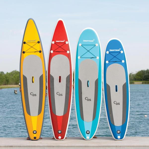 "Driftsun Racing 11' 8"" Touring inflatable SUP board review"
