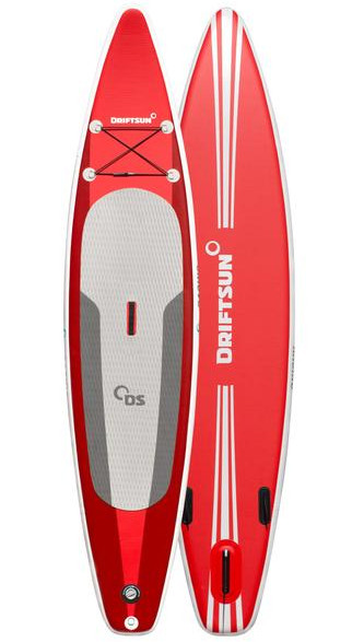 "Driftsun 11'8"" Racing/Touring inflatable stand up paddle board review"