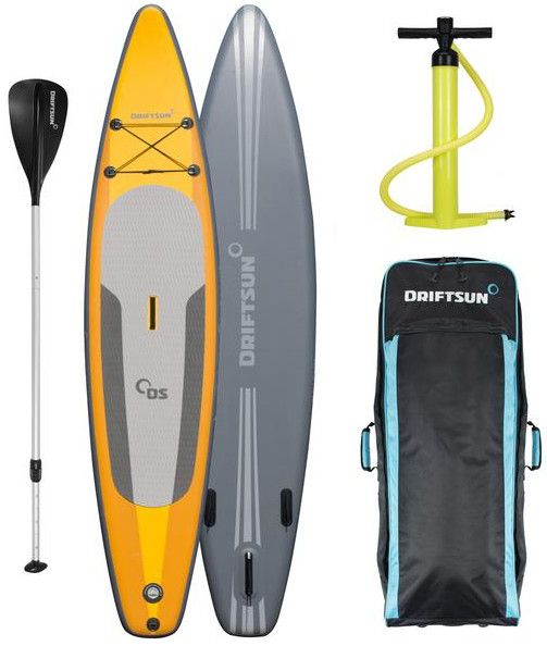 "Driftsun 11'8"" Racing Touring inflatable stand up paddle board review"