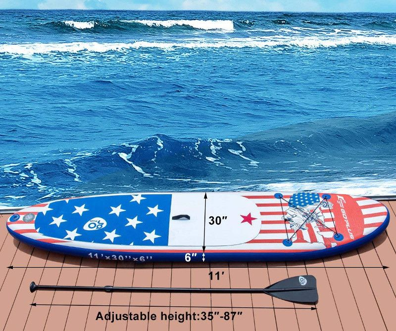 Goplus 11' Cruiser Inflatable Paddle Board Review