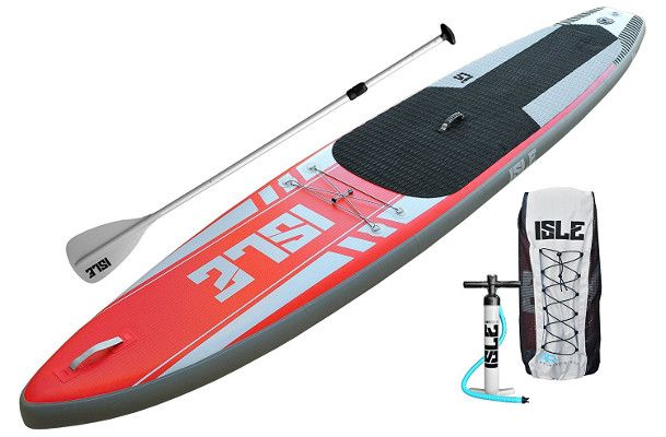 "ISLE 12'6"" Airtech Inflatable paddle board - Package"