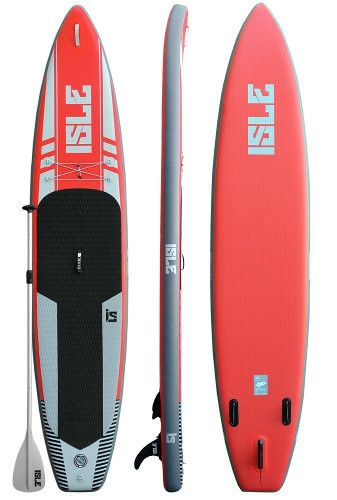 "ISLE 12'6"" Touring inflatable SUP Review"