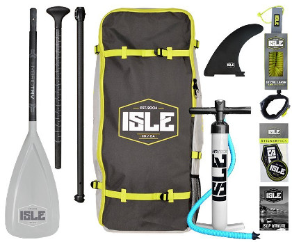 "ISLE 10'6"" All Around Inflatable SUP - Package"