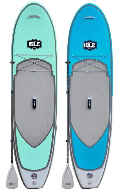 "ISLE 10'6"" All Around Inflatable sup Review"