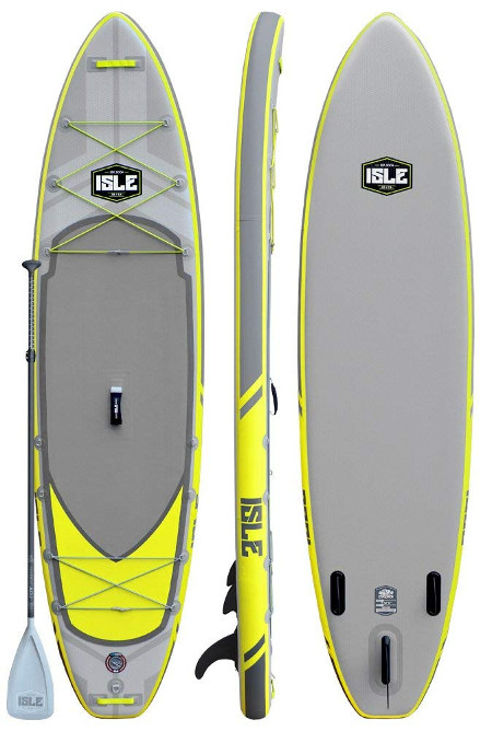 ISLE Airtech Explorer 11' Inflatable Stand Up Paddle Board Review