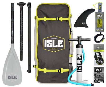 ISLE Airtech 11' Explorer Inflatable paddle board Review