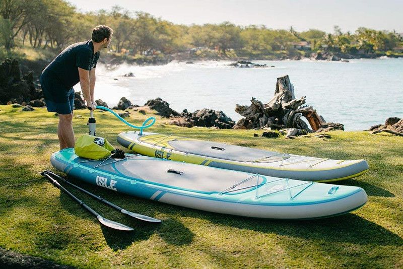 ISLE 11' Explorer inflatable paddle board review