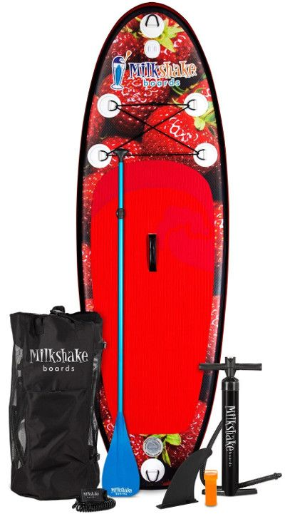 Milkshake Boards 8' Strawberry Kids inflatable SUP board