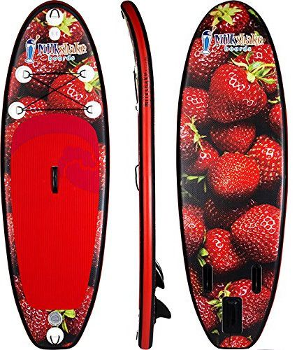 Milkshake Boards 8' Strawberry Inflatable SUP