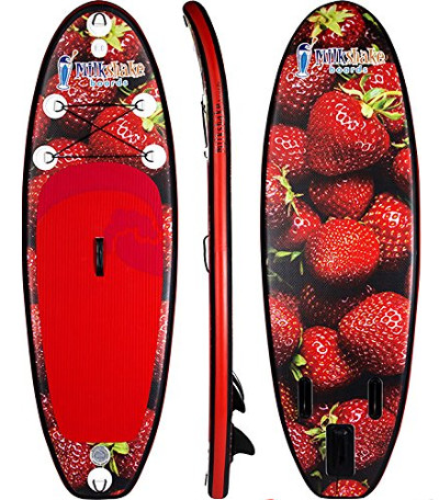Milkshake Boards Strawberry Kids inflatable paddle board review