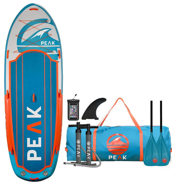 PEAK 12' Titan Royal Blue Multi-Person Inflatable SUP Board Review