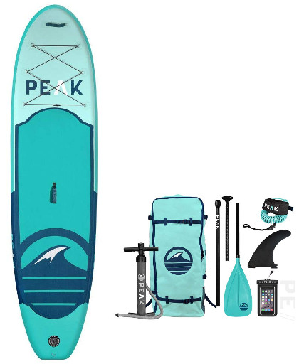 "PEAK 10'6"" All Around inflatable Stand Up Paddle Board Review"