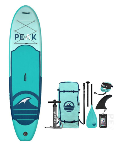PEAK Inflatable 10'6 All Around Stand Up Paddle Board review