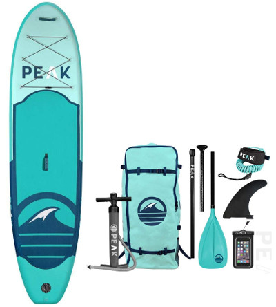 "PEAK 10'6"" All Around Inflatable Paddle Board Review"