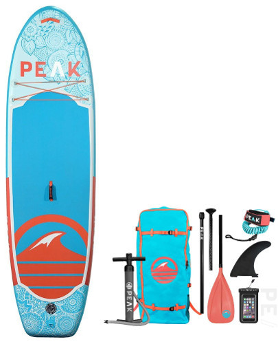 PEAK 10' Yoga Fitness inflatable SUP