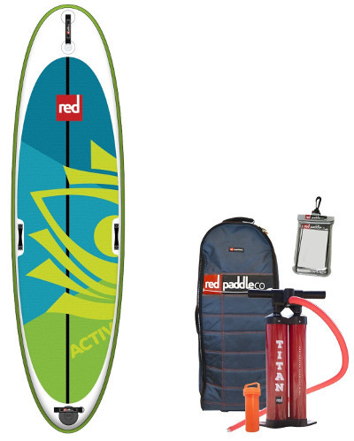 RED Paddle Co Activ inflatable stand up paddle board review