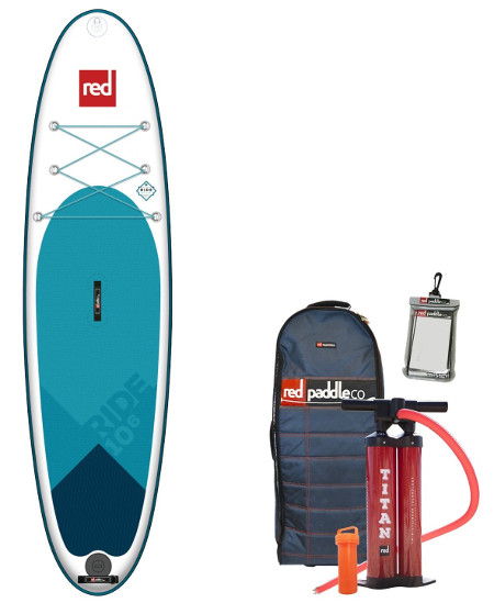"""Red Paddle Co. 2018 10'6"""" inflatable paddle board review"""