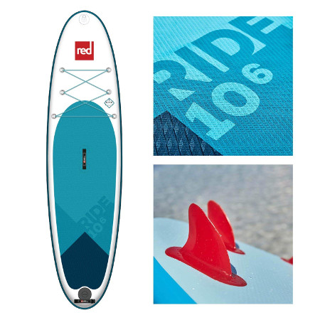 """Red Paddle Co ride 10'6"""" inflatable SUP"""
