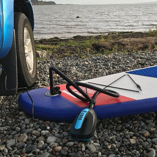 Tower paddle boards electric SUP Pump review