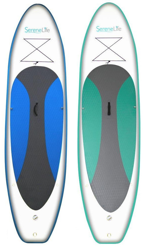 SereneLife 10' Inflatable Paddle Board review
