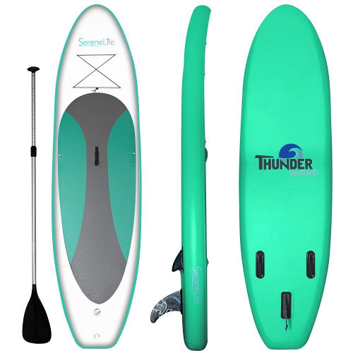 SereneLife 10' Inflatable SUP - Package