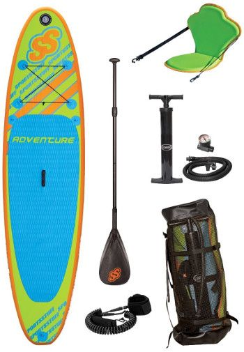 Sportstuff 1030 Adventure inflatable SUP Review