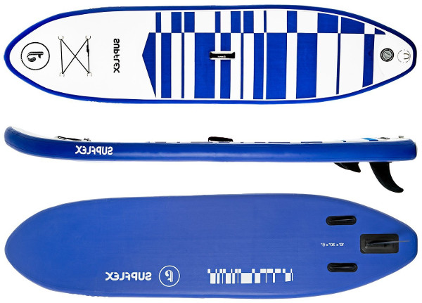 Supflex 10' inflatable paddle board review