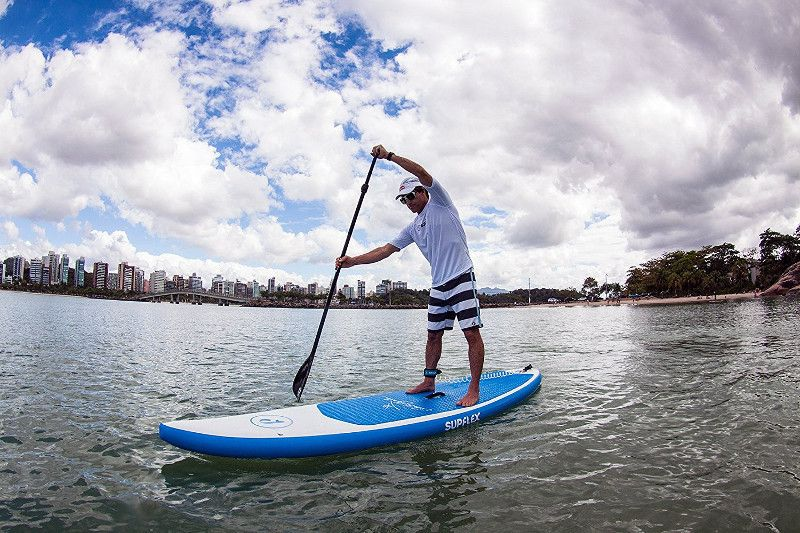"Supflex Carlos Burle 10'8"" inflatable stand up paddle board review"