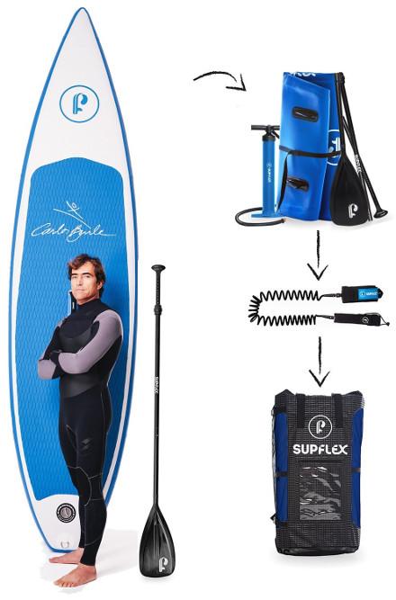 "Supflex 10'8"" Carlos Burle - Package"