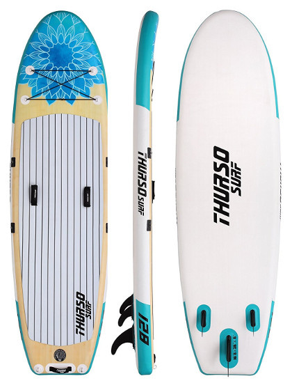 "THURSO SURF Tranquility Yoga 10'8"" Inflatable SUP Board Review"