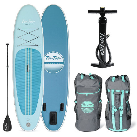 Ten Toes Emporium Weekender Inflatable Stand Up Paddle Board Review