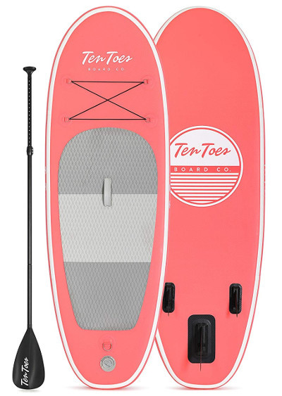 Ten Toes Nano Inflatable Stand Up Paddle Board Review