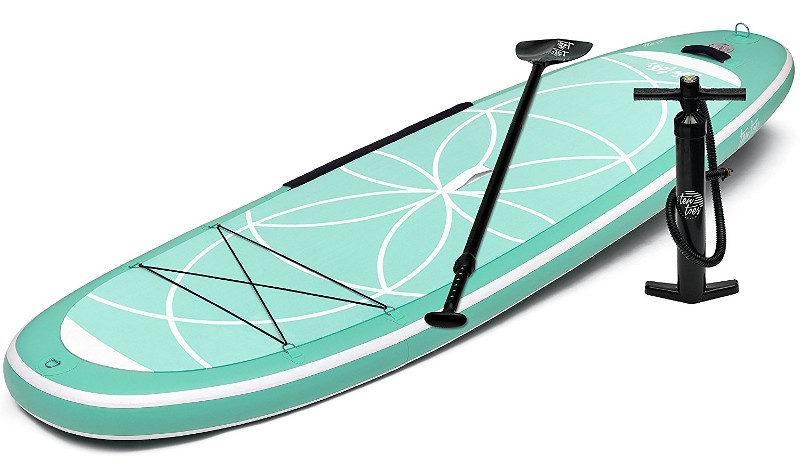 Ten Toes Yogi inflatable paddle board review