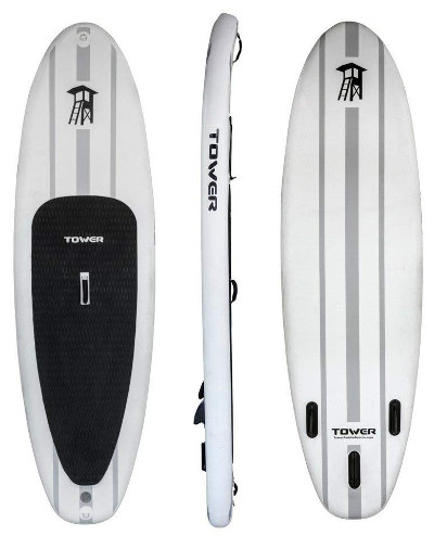"Tower Adventurer 1 9'10"" inflatable paddle board review"