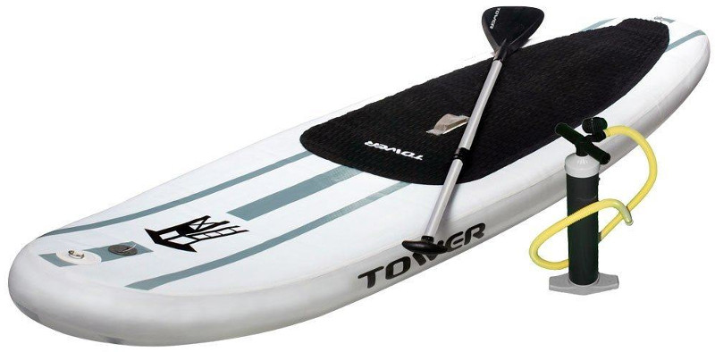 "Tower 9'10"" Adventurer 1 inflatable paddle board review"