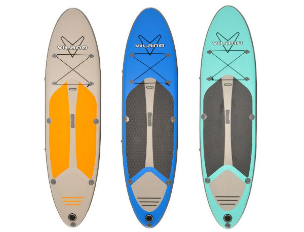 Vilano Navigator inflatable paddle board review - Colors