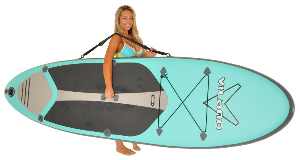 Vilano Navigator inflatable stand up paddle board review