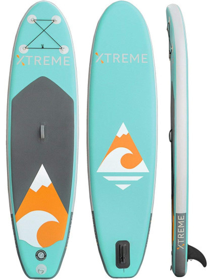 XtremepowerUS Inflatable Paddle Board Review