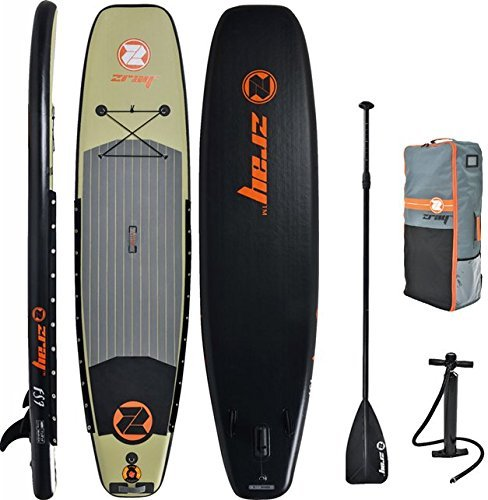 Z-Ray FS7 Fishing inflatable paddle board review