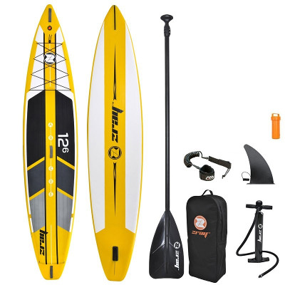 Zray R1 inflatable stand up paddle board review